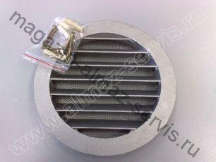 Решетка вентиляционная для приточного клапана КПВ-125 или КИВ-125