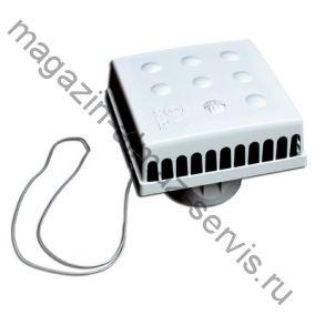 Оголовок приточного клапана инфильтрации воздуха КИВ-125 КВАДРО (QUADRO VORTICE оригинал)